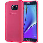 Flexi Gel Case for Samsung Galaxy Note 5 - Smoke Pink (Two-Tone)