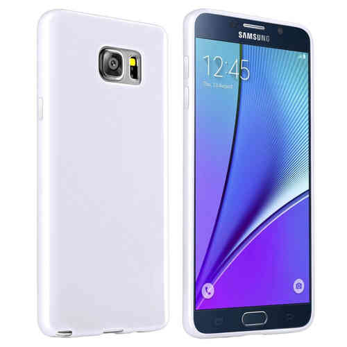 Flexi Slim Case for Samsung Galaxy Note 5 - White (Matte)