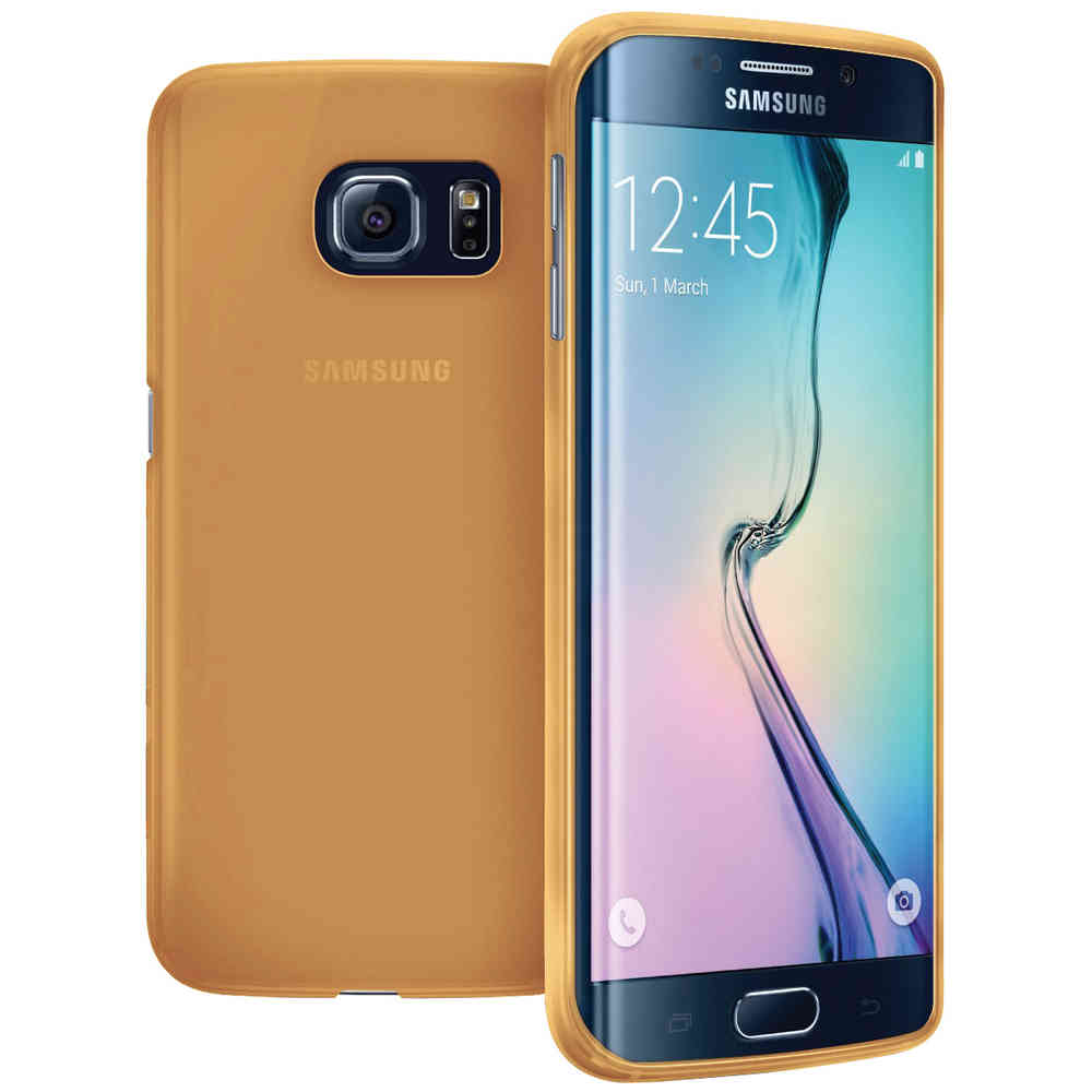 huge selection of c39dd 2e7f6 Flexi Slim Case - Samsung Galaxy S6 Edge Plus (Smoke Gold)