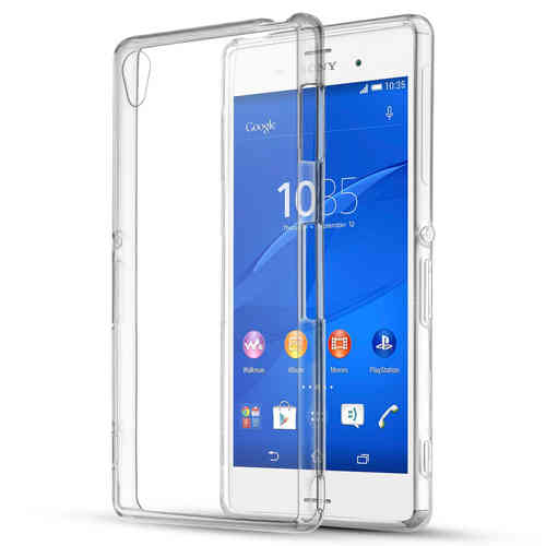 Flexi Gel Crystal Case for Sony Xperia Z3 - Clear (Gloss)