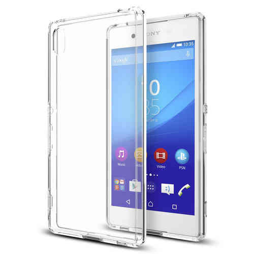 Flexi Gel Crystal Case for Sony Xperia Z3+ / Xperia Z4 - Clear