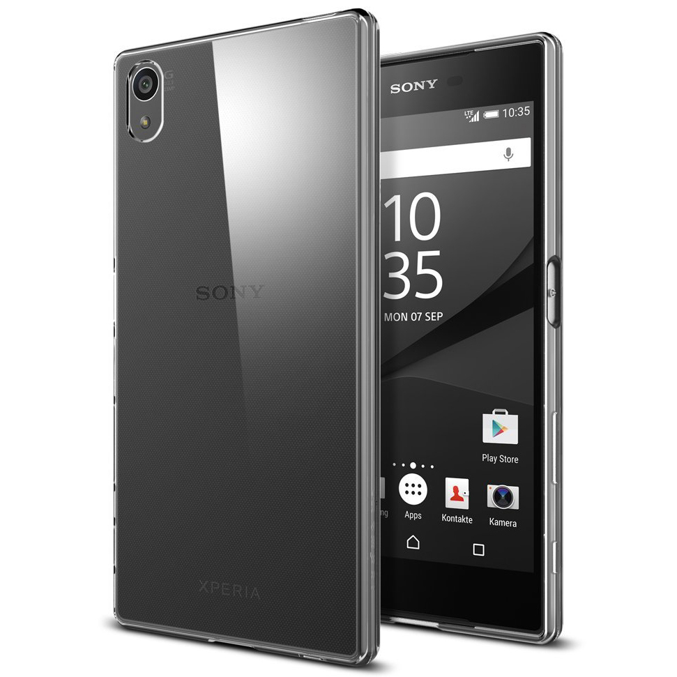 Flexi Crystal Case For Sony Xperia Z5 Premium  Clear