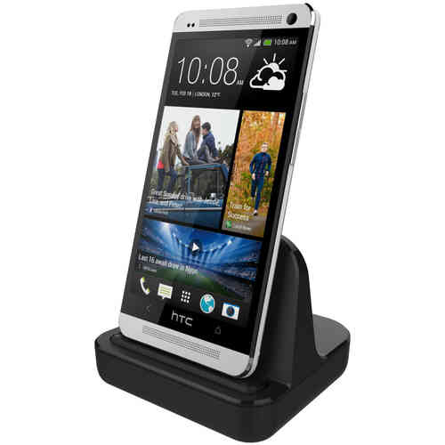 HTC One M7 Charging Dock (Charge & Sync Cradle) - Black