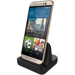 HTC One M9 Charging Dock (Charge & Sync Cradle) - Black