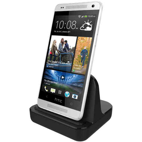 HTC One Mini M4 Charging Dock (Charge & Sync Cradle) - Black