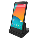 Case Ready Desktop Charging Stand & Cradle Charger for Google Nexus 5
