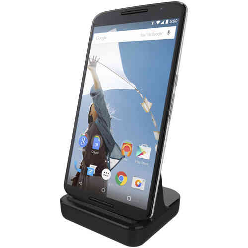 Motorola Google Nexus 6 Charging Dock (Charge & Sync Cradle) - Black