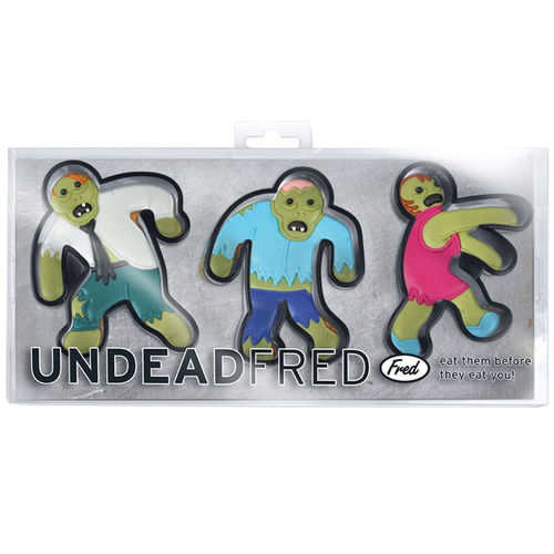 Fred & Friends Undead Fred Zombie Cookie Cutters (3-set)