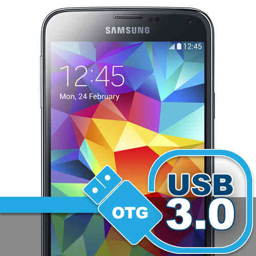 OTG Cable (Micro USB 3.0 to USB Adapter) for Samsung Galaxy S5