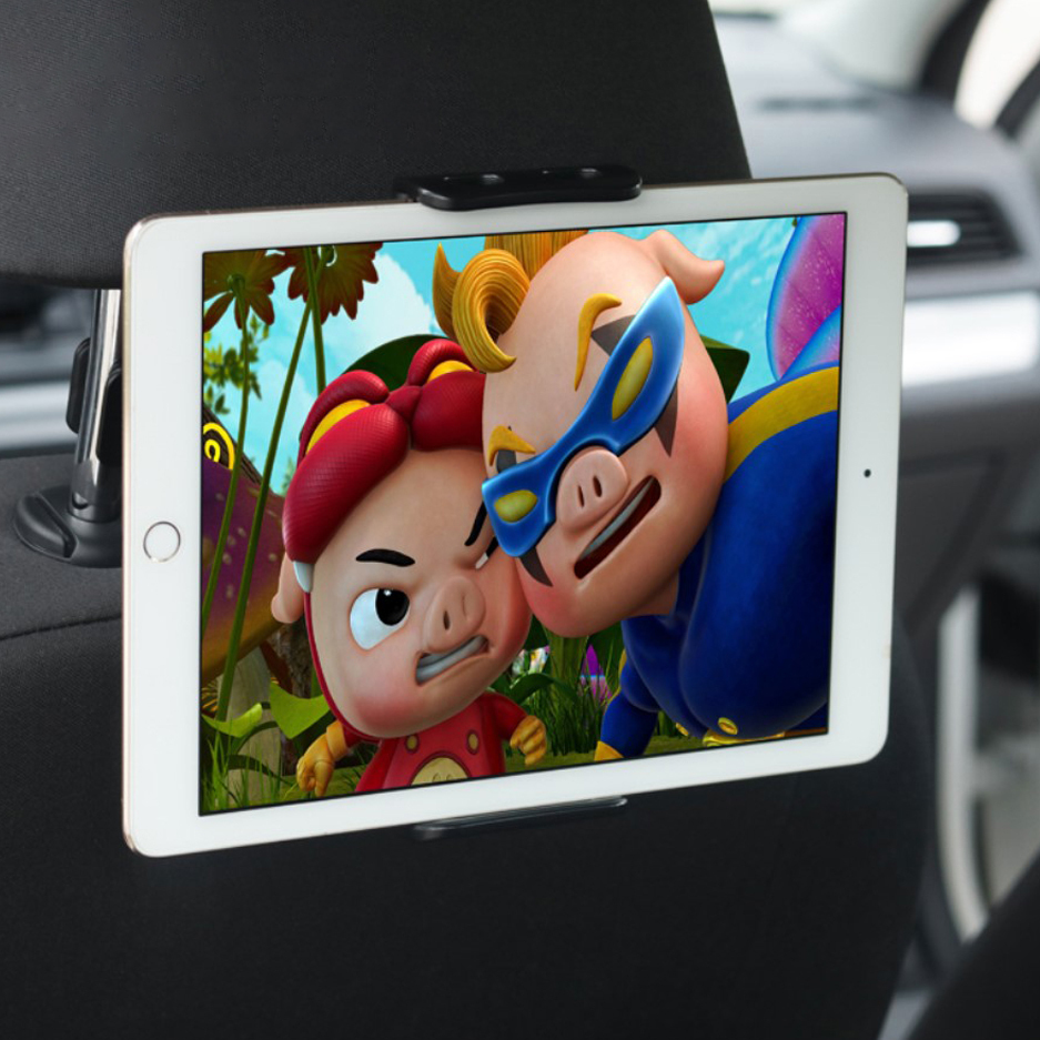 Car Headrest Mount Holder For Tablets IPads Galaxy Tab Surface