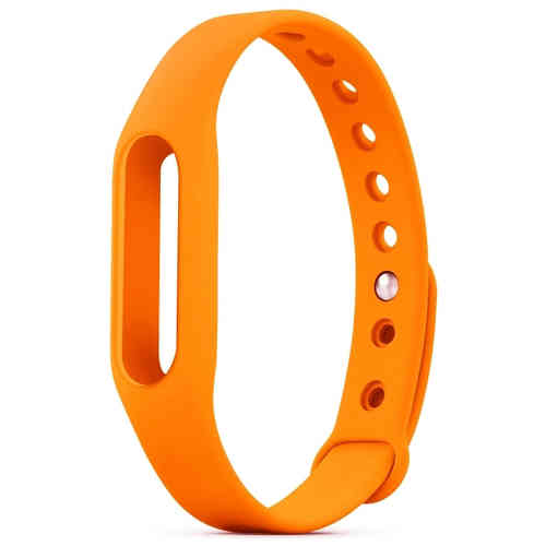 Replacement Wrist Band Bracelet for Xiaomi Mi Fitness Band - Orange