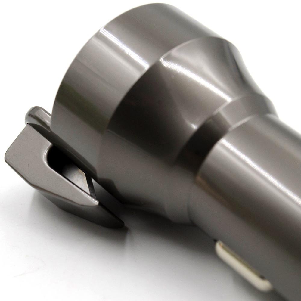 Zuoqi Dual Usb Car Charger Safety Hammer Seat Belt Cutter