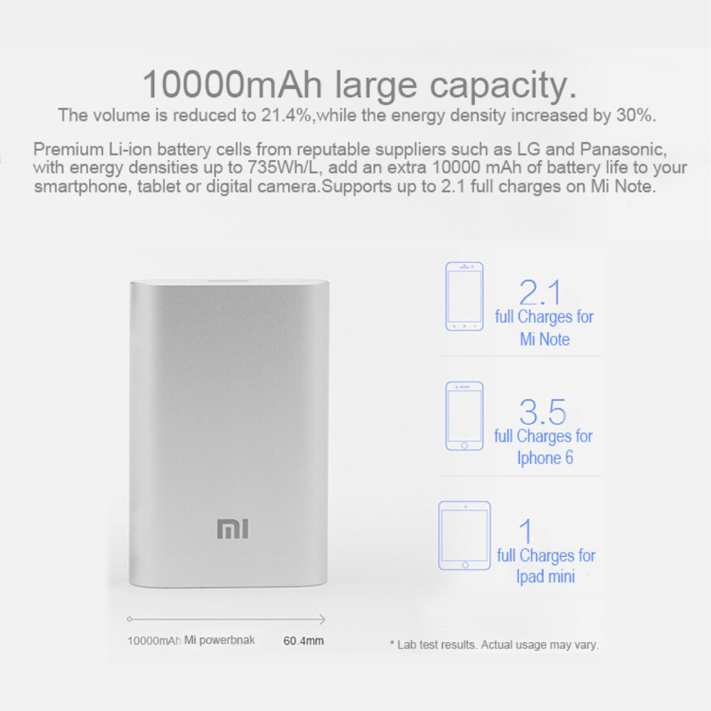 Xiaomi 20000 mah portable usb battery pack [ review ].