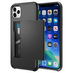 Tough Armour Card Slot Slide Case for Apple iPhone 11 Pro Max - Black