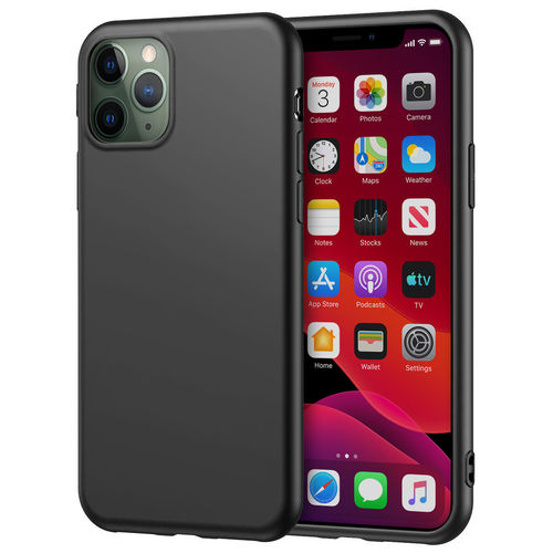 Flexi Silicone Stealth Case for Apple iPhone 11 Pro - Black / Matte