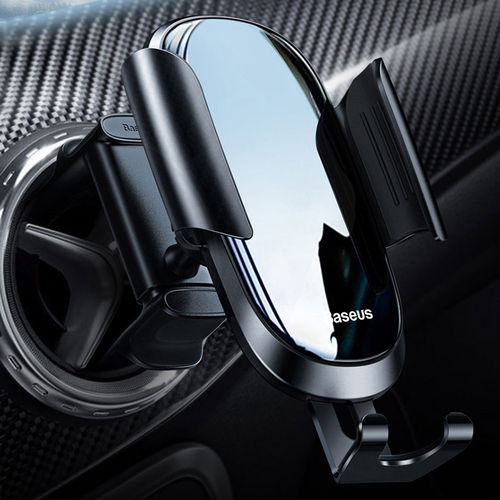 Baseus Future Gravity Round Circular Air Vent Car Mount Phone Holder