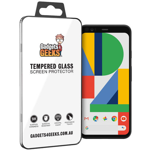 9H Tempered Glass Screen Protector for Google Pixel 4