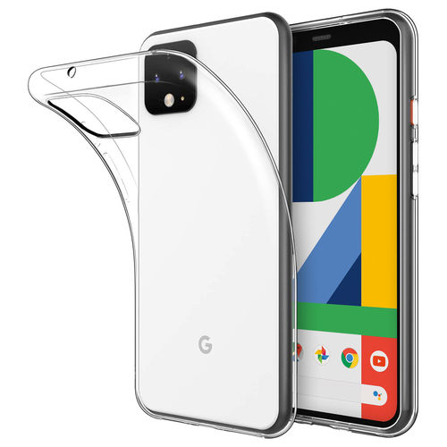Flexi Slim Gel Case for Google Pixel 4 - Clear (Gloss Grip)