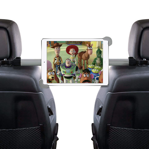 Universal Tablet Car Headrest Mount & Centre Extension Arm Holder for iPad