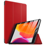 Trifold Sleep/Wake Smart Case for Apple iPad 10.2-inch (7th Gen) - Red