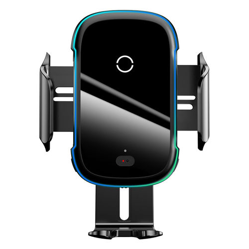 Baseus (15W) Fast Wireless Charger / IR Sensor Clamp / Air Vent & Suction Car Mount