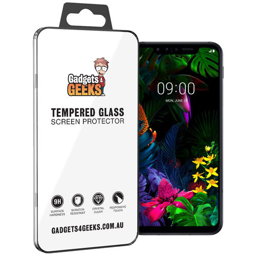 9H Tempered Glass Screen Protector for LG G8S ThinQ