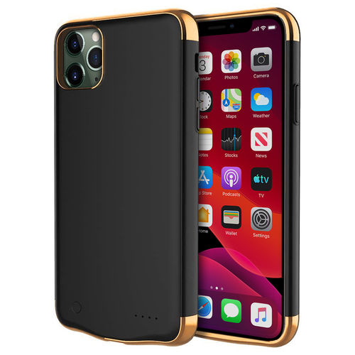 5500mAh Battery Charger Case for Apple iPhone 11 Pro - Black