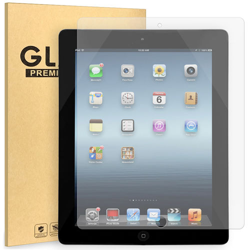 9H Tempered Glass Screen Protector for Apple iPad 2nd / 3rd / 4th Gen