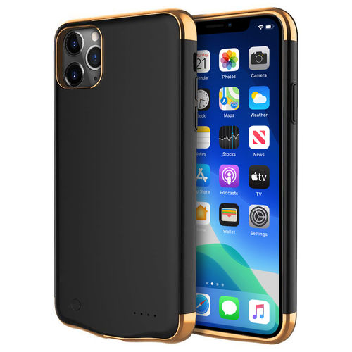 6000mAh Battery Charger Case for Apple iPhone 11 Pro Max - Black