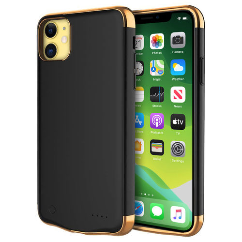 6000mAh Battery Charger Case for Apple iPhone 11 - Black