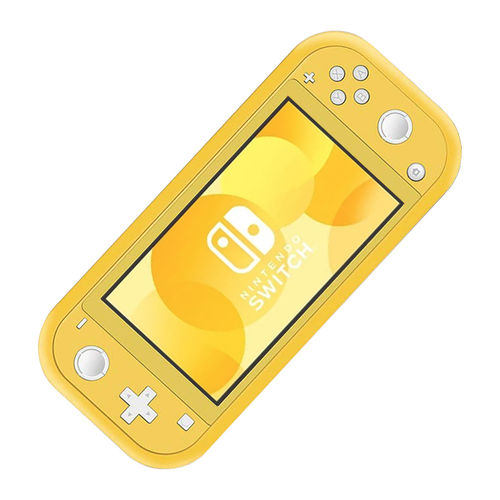 Flexi Silicone Protective Case for Nintendo Switch Lite - Yellow (Matte)
