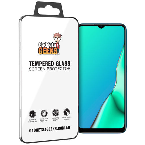 9H Tempered Glass Screen Protector for Oppo A9 2020
