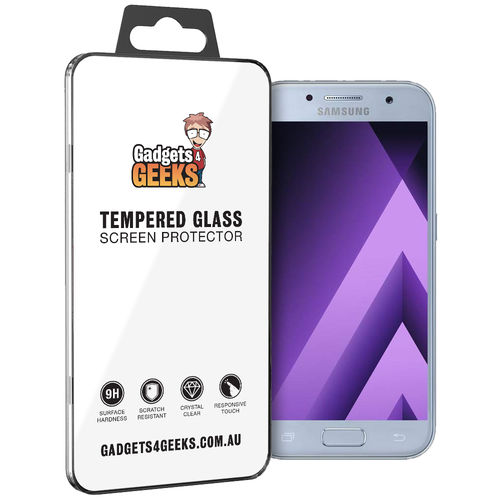 9H Tempered Glass Screen Protector for Samsung Galaxy A3 (2017)