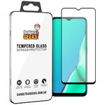 Full Coverage Tempered Glass Screen Protector for Oppo A9 2020 - Black