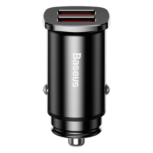 Baseus (30W) QC3.0 Dual USB Fast Car Charger for Mobile Phone / Tablet