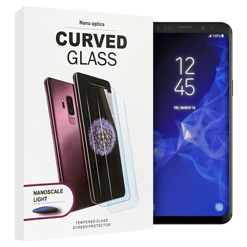 UV Liquid Tempered Glass Screen Protector for Samsung Galaxy S9