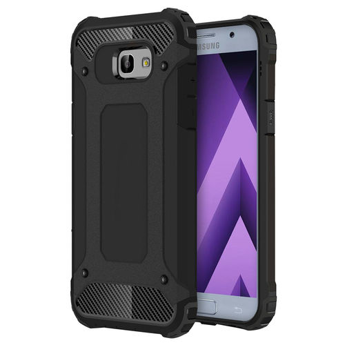 Military Defender Shockproof Case for Samsung Galaxy A3 (2017) - Black