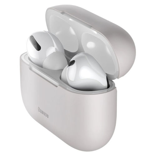 Baseus Super Thin Silica Protective Case for Apple AirPods Pro - Grey