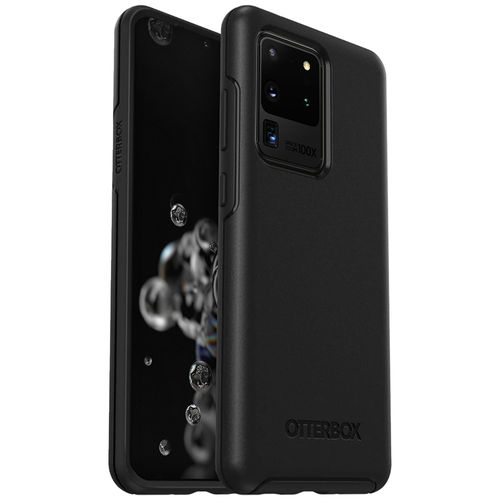OtterBox Symmetry Shockproof Case for Samsung Galaxy S20 Ultra - Black