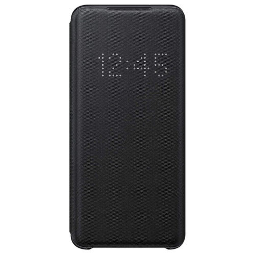 Samsung Smart LED View Cover Flip Case for Galaxy S20 - Black