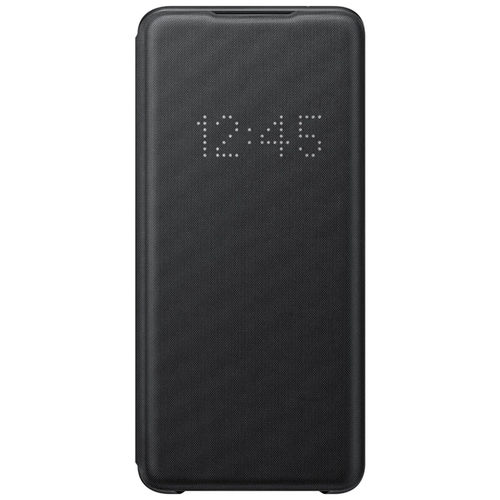 Samsung Smart LED View Cover Flip Case for Galaxy S20 Ultra - Black