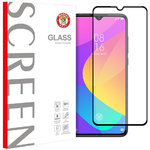 Full Coverage Tempered Glass Screen Protector for Xiaomi Mi 9 Lite - Black
