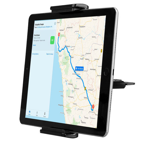 3-in-1 CD Slot Tray Rotating Car Mount Holder for Mobile Phone / Tablet