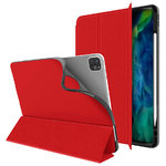 Trifold Sleep/Wake Smart Case & Stand for Apple iPad Pro 11-inch (2nd Gen) - Red