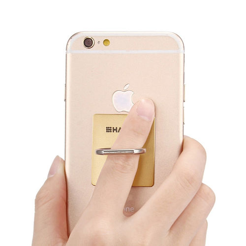 (2-Pack) Haweel 360 Finger Ring Holder & Stand for Phone / Tablet - Gold
