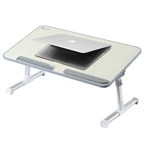 XL Height Adjustable Stand / Laptop Tray Holder / Foldable Desktop Table
