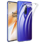 Flexi Slim Gel Case for OnePlus 8 Pro - Clear (Gloss Grip)