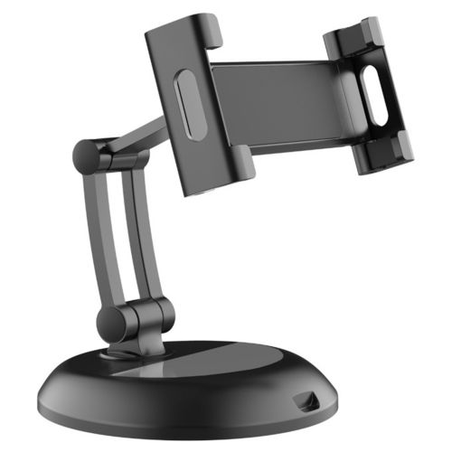 Stealth Adjustable Desktop Stand / 360 Rotating Holder for iPad / Tablet - Black
