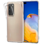 Flexi Slim Gel Case for Huawei P40 Pro - Clear (Gloss Grip)