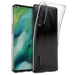 Flexi Slim Gel Case for Oppo Find X2 Pro - Clear (Gloss Grip)
